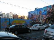 Graffiti in a Black neighborhood in Downtown Philadelphia