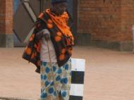 Пожилая руандийка