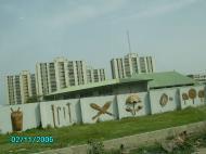 Ограда дворца оба – традиционного правителя Лагоса (фото О.И. Кавыкина)