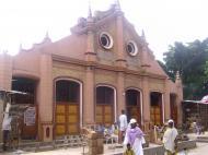 Мечеть в бразильском стиле в Лагосе (фото А.А. Банщиковой)