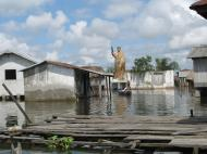 «Африканская Венеция» — деревня Ганвье (фото Д.М. Бондаренко)