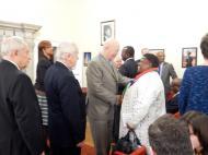 Руководители Института Африки РАН приветствуют пола ЮАР
