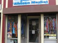 Магазин в Бостоне, принадлежащий иммигранту из Сьерра-Леоне