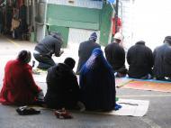 Молитва мусульман из Западной Африки. Гарлем, Нью-Йорк (фото Д.М. Бондаренко)