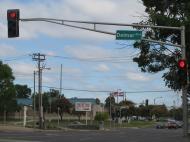 Сент-Луис считается одним из наиболее сегрегированных городов США. Бульвар Делмар четко делит его на две практически равные части: почти всецело черную северную и преимущественно белую южную (фото Д.М. Бондаренко)