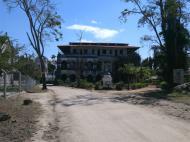Здание первой в Восточной Африке католической миссии, Багамойо (фото А.А. Банщиковой)