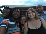С друзьями и респондентами, Багамойо (фото А.А. Банщиковой)