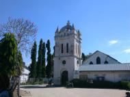Так называемая Башня Ливингстона, где его тело покоилось перед отправкой на Занзибар. Архитектурный комплекс католической миссии, Багамойо (фото А.А. Банщиковой)