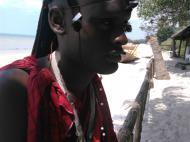 Юноша-масай, Багамойо (фото А.А. Банщиковой)