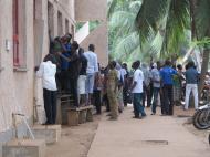 Бенин Университет Абомей - Калави. Студенты ищут свои результаты