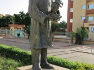 Буркина-Фасо Памятник Гастону Каборе
