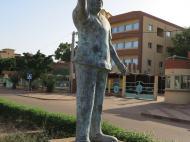 Буркина-Фасо Памятник Идриссе Уэдраого