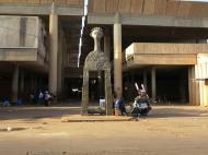 Буркина-Фасо Рыночная площадь в Уагадугу