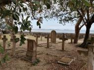 Вид на морское кладбище, остров Чапвани (фото А.А. Банщиковой)