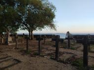 Вид на морское кладбище, остров Чапвани (фото В.Н. Брындиной)