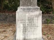 Могила капитана  Чарльза Браунригга, остров Чапвани (фото А.А. Банщиковой)