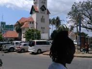 Вид на кафедральный собор Святого Иосифа, Дар-эс-Салам (фото А.А. Банщиковой)