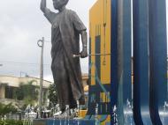 Памятник Джулиусу Ньерере, Дар-эс-Салам (фото О.В. Иванченко)