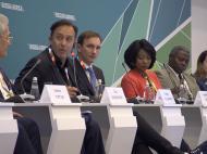 Экономический форум Россия-Африка, сессия «Создавая новое качество жизни в Африке», «Фотобанк Росконгресс»