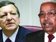 Участники конференции – бывший премьер-министр Португалии Ж.Баррозу и бывший президент Кабо-Верде П.Пиреш