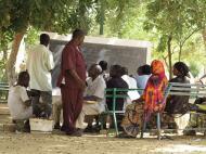 Нигер Университет Абду Мумуни. Аудитории под открытым небом