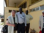 Елена Харитонова - глава делегации российских предпринимателей в Ю.Судане.С представителями принимающей стороны.