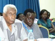 гости форума. Слева - Председатель правления и владелец банка (Ю.Судан).