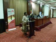 выступление Министра Торговли Уганды.