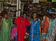 африканский колорит. Рынок.