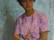 С.М. Скубко. Студентка из Рио-Негро (Бразилия). 1962. Х.,м. 90х70