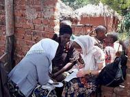 Интервьюирование прихожанки старообрядческой общины Накабаале, Матушка в роли переводчика