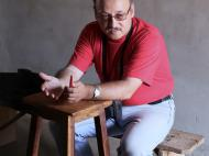 Антрополог Д.М. Бондаренко за работой, Капеке