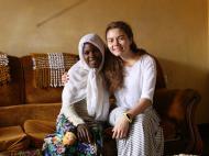 Беседа с Просковьей Намубиру у Матушки дома
