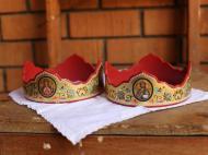 Венчальные короны, выполненные для старообрядцев Уганды