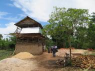 Один из проектов церкви - двухэтажный курятник в родной деревне отца Иоакима Капеке