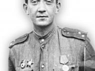 СВЯТСКИЙ Борис Моисеевич (1918-1995) Капитан. Северо-Западный, Степной, 2-ой и 1-й Украинский фронты.