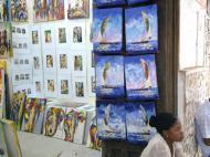 Небольшая картинная галерея, Стоун Таун, Занзибар (фото А.А. Банщиковой)