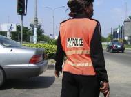 Регулировщица. Лагоса (фото Д.А. Халтуриной)