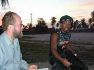 Интервью на Занзибаре (фото Е. Деминцева)