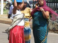Танзанийские женщины. г. Дар-эс-Салам (автор Д.М. Бондаренко)