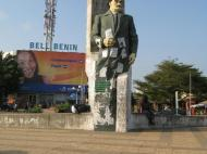 Памятник Г. Димитрову на площади Болгарии в г. Котону (фото Д.М. Бондаренко)