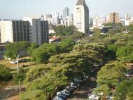 Хараре, вид на центр города