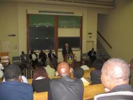 Лекция Шубина в Университете Зимбабве
