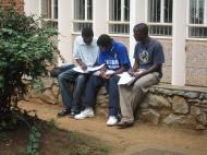 В кампусе Университета Зимбабве