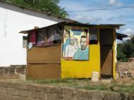 Парикмахерская в г. Ливингстоне (фото Д.М. Бондаренко)